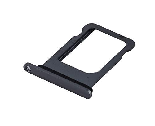 ICONIGON Ersatz für iPhone XS SIM-Kartenhalter inkl. Dichtung (Space Grau)