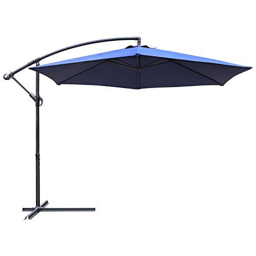 Greesum Offset Umbrella 10FT Cantilever Patio...