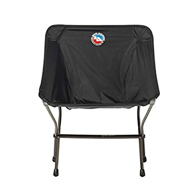 Big Agnes Skyline UL Ultralight Backpacking Furniture, Chair (Black)