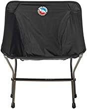 Big Agnes Inc Unisex's Big Agnes Skyline Ultralight Backpacking Chair for Fast and Light Adventures, Black Camp Furniture, One Size