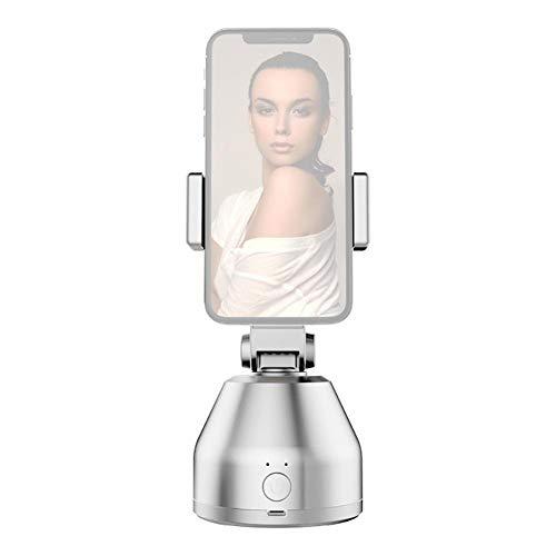 jinclonder 360 ° intelligentes Follow-up-Gimbal, Gesichtserkennung, Objektverfolgung, Kamera, Live-Übertragungsartefakt Handyhalter Horizontale und vertikale Umschaltung