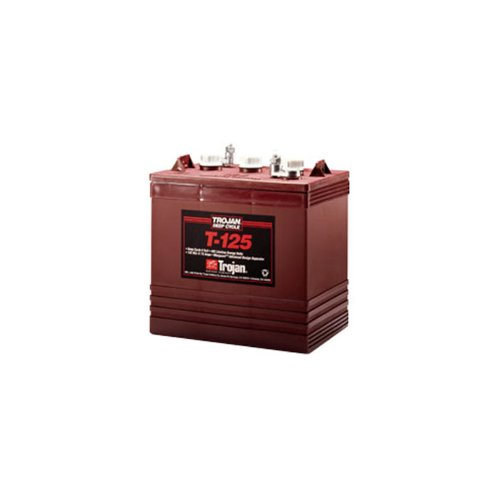 Trojan T-125 Flooded Lead Acid GC2 Deep Cycle Battery for RV