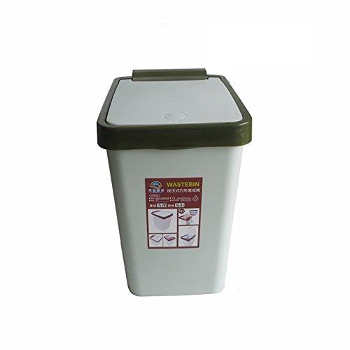 Home Kitchen Toilettage Rangement de rangement carré ( Couleur : Green cover )