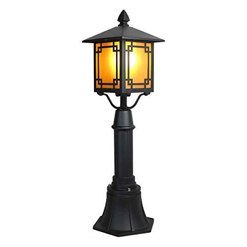 Outdoor Pillar Post Lights Waterproof IP65 Headlight Column European Villa Patio Garden Lantern Pole Lamp Outside Fence Community Landscape Lighting Fixture