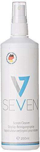 V7 VCL1620 Display Reinigungsspray (250 ml) in Aerosolflasche für Monitore, TFT, LCD, Plasma und andere Bildschirme