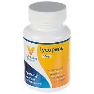 The Vitamin Shoppe Lycopene 10MG, Antioxidant That Supports Cardiovascular, Prostate Cellular Health (60 Softgels)