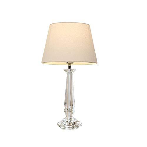 ZLMAY Lámpara de Mesa de Cristal de la lámpara de cabecera Dormitorio Simple Moderna de la Manera Creativa lámpara de Mesa Caliente