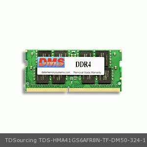 DMS Data Memory Systems Replacement for TDSourcing HMA41GS6AFR8N-TF Lenovo TDSourcing ThinkPad T470 20JM 8GB DMS Certified Memory 260 Pin DDR4-2133 PC4-17000 1024x64 CL15 1.2V SODIMM - DMS