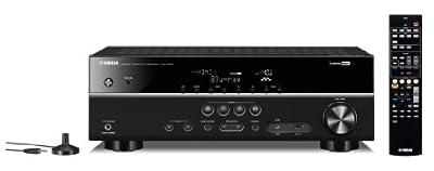 YAMAHA HTR-3067 (B) AV receiver 5.1ch / 4K Ultra HD corresponding black
