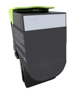 puissant Compatible avec les cartouches d'encre de grossiste, noir, Lexmark CX310N CX310DN CX410DE CX410DTE CX410ECX510DE…