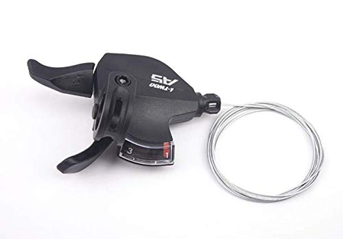 CNC Cambios de Velocidad de Bicicleta Right,Palanca de Cambio Bicicleta 9 Velocidad para Shimano/Sram.