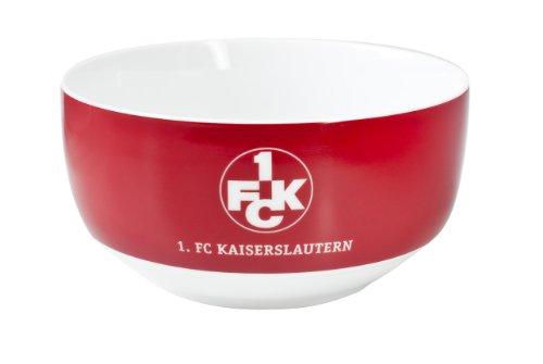 Brauns 1. FC Kaiserslautern Porzellanschale, rot, 18080