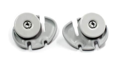 Kit ruedas cesta inf. lavavajillas 2 unidades Zanussi 50269767005 50269770009