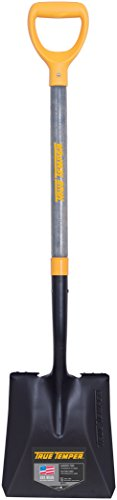 The Ames Companies, Inc 2586000 True Temper D-Grip Transfer Shovel with Wood Handle