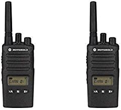 2 Pack of Motorola RMU2080d Business Two-Way Radio LED Display 2 Watts/8 Channels