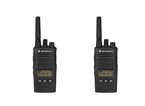 2 Pack of Motorola RMU2080d Business Two-Way Radio LED Display 2 Watts/8 Channels