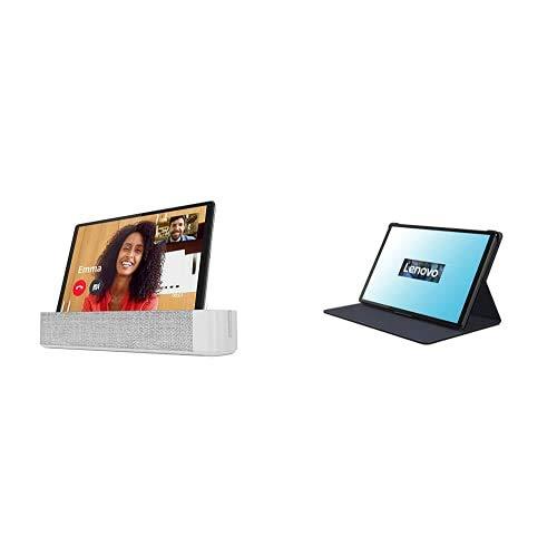 Lenovo Smart Tab M10 FHD Plus mit Amazon Alexa 26,18 cm (10,3 Zoll, 1920x1200, FHD, IPS, Touch) Tablet-PC (Octa-Core, 4 GB RAM, 64 GB eMCP) + M10 FHD Plus (2nd Gen) Folio Case und Schutzfolie schwarz