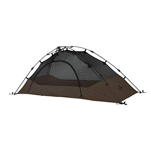 TETON Sports Vista 1 Quick Tent; 1 Person Dome Camping Tent; Easy Instant Setup, Brown