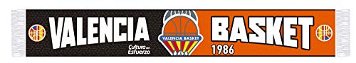 Valencia basket Bufanda Negra-Naranja, género, Talla única