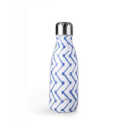 Botella termo doble pared Zigzag Ibili 0,35L