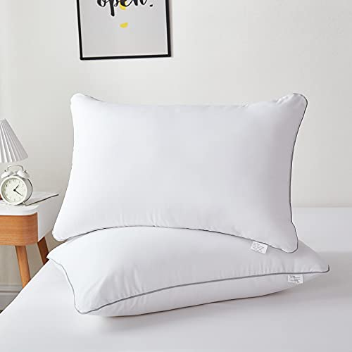 Bed Pillows for Sleeping 2 Pack Standard Size - Luxury Quality Pillows...