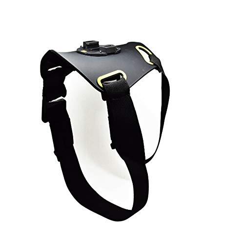 SKAL arnés de perro para la mayoría de cámaras de acción, soporte de correa compatible con Hero 4 5 6 7