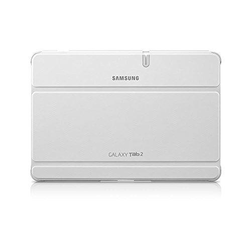 Samsung Efc-1H8Swecstd Book Cover Per Galaxy Tab 2 10.1, Bianco