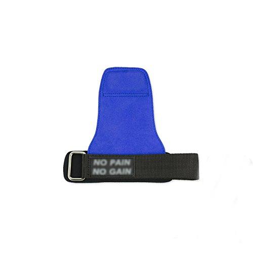 Handguards Paramani Guanti da Palestra per Uomo e Donna con Cinturino in Pelle Dispositivi Anti-Scivolo in Pelle Multi-Color Opzionale 18-19,5 CM 19,5-21 CM (Colore : D, Dimensioni : 19.5-21CM)