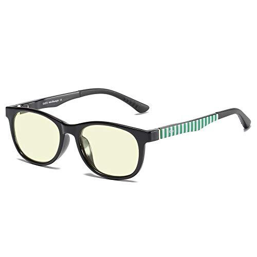 DUCO Kids Computer Glasses Video Gaming Glasses for Kids and Teens - Anti Harmful Blue Light/UV400 K016