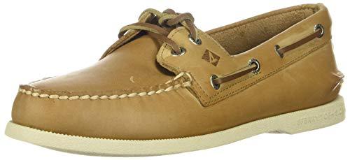 Sperry Men's Authentic Original 2-Eye Boat Shoe, CREAM, 10 M US