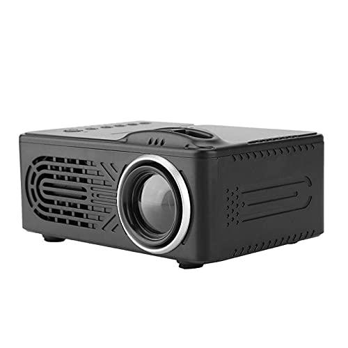 Kettles Mini Proyector Multi-Funcional Mini Proyector Digital HD 1080P Pico Pequeño Proyector para el Hogar Compatible con HDMI, VGA, USB, TF, AV para Cine en Casa Fiesta Juego (Color : UK)