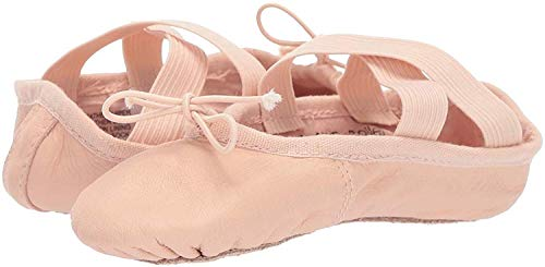 LEO Boy's Girl's Ensemble Dance Shoe, Ballet Pink, 6.5 UK Child