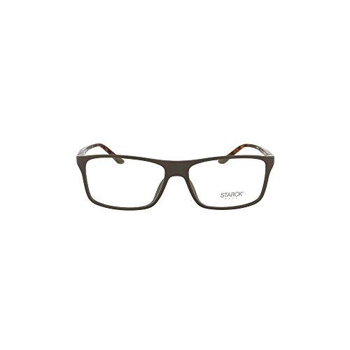 Starck Eyes Occhiali da Vista 0SH1043X Matte Brown 56/15/140 uomo