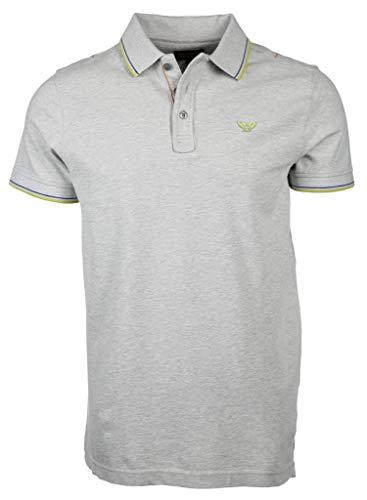PME Legend Herren Poloshirt Größe 3XL Grau (grau)