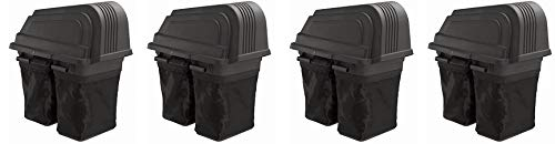 Poulan Soft-Sided 2 Bin Grass Bagger Item #960730024, Fits All Pro 46-inch Riding Lawn Mowers...