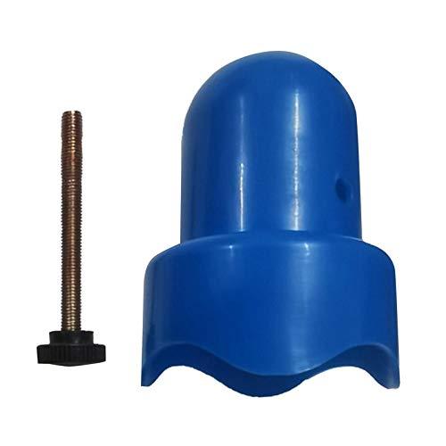 Tapas de poste de trampolín, tapas superiores resistentes del tubo de acero, tamaño adecuado del tubo de aproximadamente 3,8 cm