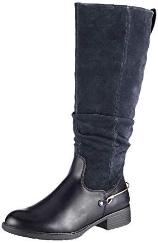Tamaris Damen 1-1-25526-23 Hohe Stiefel, Blau (Navy 805), 39 EU