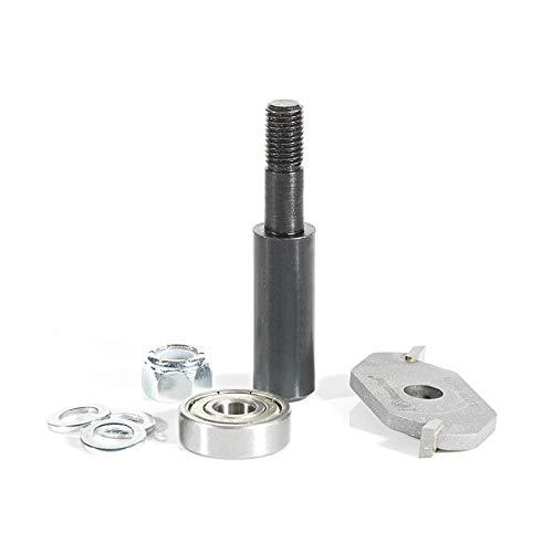 Amana Tool - 53310-1 Slotting Cutter Assembly 2 Wing x 1-7/8 Dia x 1/4 x 1/2