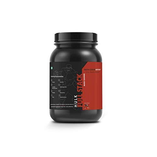 Redscience Nutrition FULL STACK™ Hulk Mass Gainer 2Lbs (With Creatine, BCAAs, Glutamine, Ashwagandha, Fibres & Multivitamins)