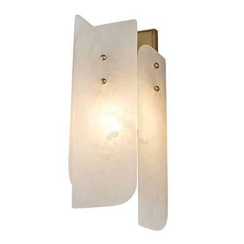Lámpara de pared de estilo nórdico moderno, lámpara de noche para dormitorio, iluminación de pared de fondo de TV para sala de estar, accesorio de habitación modelo de hotel,portalámparas estándar E27