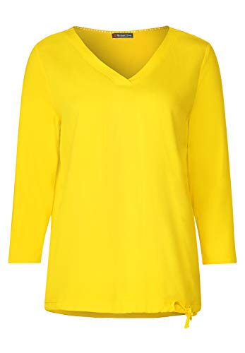 Street One 314646 T-Shirt, Jaune Brillant, 48 Femme