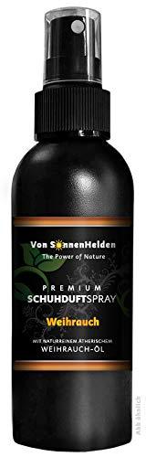 """(12,63€/100ml) Premium Schuhdeo Schuhduft Spray""""Weihrauch"""" 150ml • Mit natürlichem ätherischen Weihrauchöl - ohne Alkohol. Langanhaltend, Intensiv, Geruchsneutralisierend, Wohlduftend."""