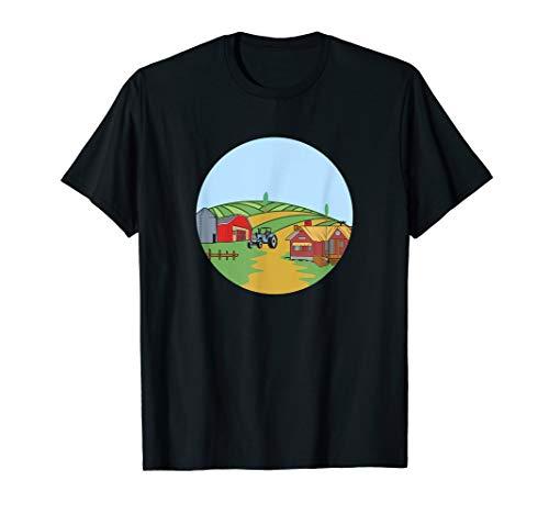 Lustiges Landwirt Bauernhof Bauer & Bäuerin T-Shirt