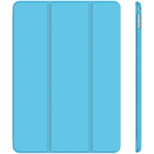 JETech Case for iPad Mini 4, Smart Cover with Auto Sleep/Wake, Blue