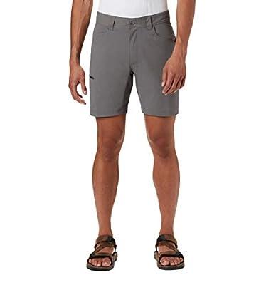 Columbia Men's Silver Ridge Ii Stretch Short, UPF 50 Sun Protection, City Grey, 32x8