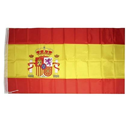 For my cake Bandera España 90x150 cm