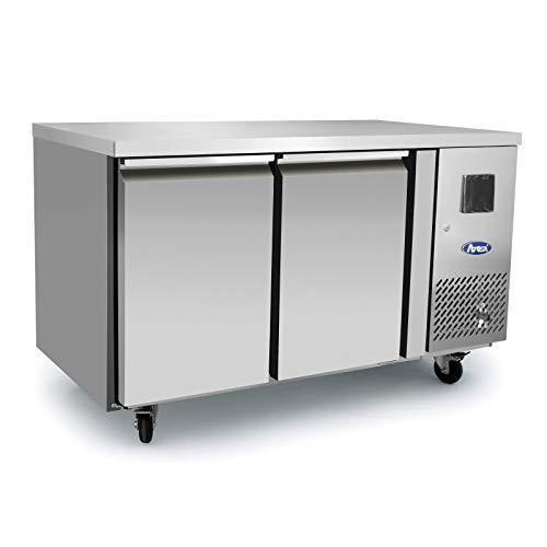 Table Réfrigérée Négative - 1360 mm - 2 Portes - Atosa - 2 Portes 600 Pleine