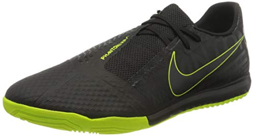 Nike Mens Phantom Venom Academy Indoor Soccer Shoes (7, Black/Volt)