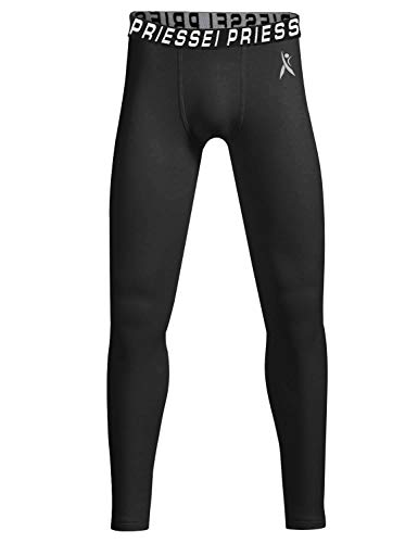 RlaGed Youth Boys Girls Compression Thermal Base Layer Pants Running Basketball Sports Tights Fleece Lined Pants Leggings