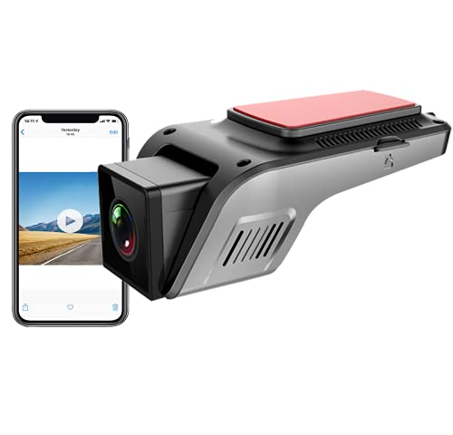 1080P Smart HDR/WDR Dash Cam WiFi Full HD Car Dash Camera Recorder with...